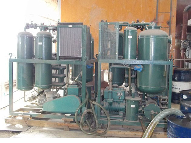 吉林水泥制造公司订购-透平油真空滤油机