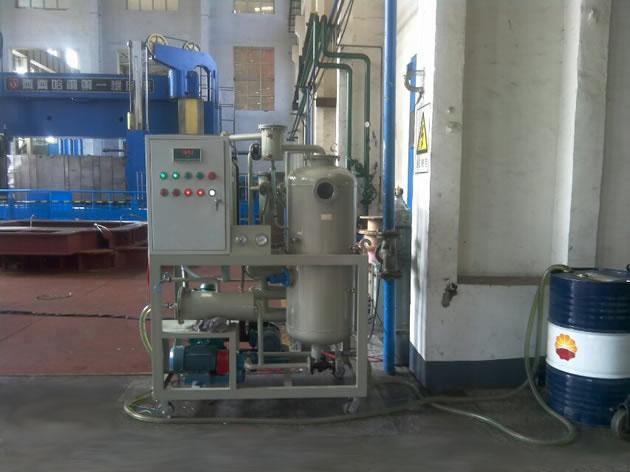 黑龙江机床公司订购-液压油真空滤油机
